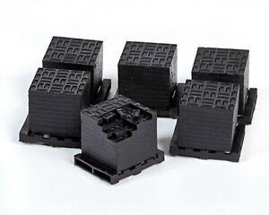 OO/1:76/4mm Resin Bricks Euro Pallets (x10)