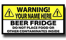 PERSONALISED BEER FRIDGE NOVELTY METAL FRIDGE MAGNET,DRINK,FUNNY,BAR,MAN CAVE
