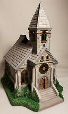 Partylite P7321 The Church Olde World Village Tealight House Mint in box Unused