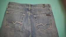 "7 For All Mankind ""Bootcut"" Women's Jeans size 27, inseam 34"