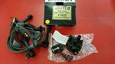 Distributor Cap/Rotor Kit/Spark Plug Wire Kit-Tri-pak Tune-up Kit fits Escort L4