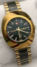 Vintage Rado Diastar Automatic 36 MM Day-Date Gold Plated Men's Wrist Watch