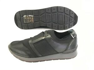Ted Baker Black Leather Upper Trainers