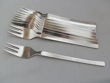WMF New York 1 Kuchengabel 15,9 cm 90er Silber  TOP - mehrere