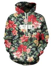 New Fashion Women/Men Flower 3D Print  Pullover Hoodie Sweatshirt S63