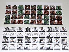 Custom 72 stickers german soldiers  WW2 GERMAN CAMO & WINTER - SIZE - lego torso