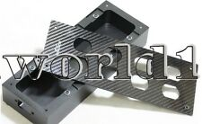 HIFI Carbon Fiber AC Power Distributor Aluminum box 8 outlet Chassis