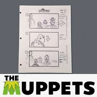 THE MUPPETS - Production Used Storyboard - Kermit, Scooter, Fozzie