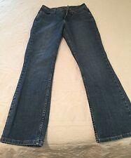 Lee Rider Vintage Jeans Ladies Slimming Front Panel Size 10M Flare Leg Retro