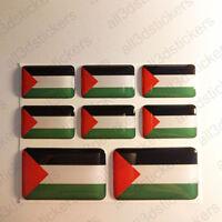 Pegatinas Palestina Pegatina Bandera Palestina Vinilo Adhesivo 3D Relieve Resina