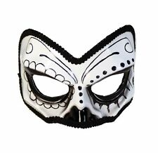 Forum Novelties Day of the Dead Half Skull Mask Masquerade Costume Accessory
