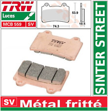 Plaquettes frein Avant TRW MCB559 SV Sinter  Yamaha TDM 850 H, N 3VD/4CM 91-96