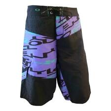 OAKLEY MENS  STRUCTION  BOARDSHORTS   SIZE 32  BLACK  RARE  NEW  LAST FEW