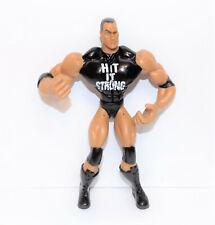 "2003 Jakk's Pacific Flex'ems ""The Rock"" Poseable Action Figure WWE [990]"