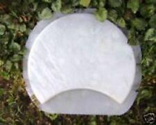Crescent stepping stone paver mold concrete plaster mould slight slate design