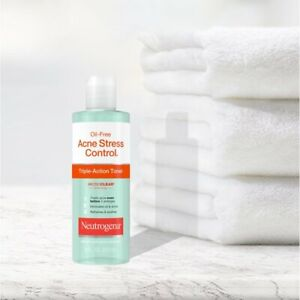 Neutrogena Oil-Free Acne Stress Control Triple-Action Toner 8 Oz Exp. 11-2022