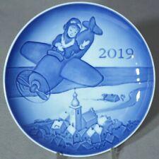 Bing & Grondahl 2019 Children's Day Plate: The Little Pilot - New in Box