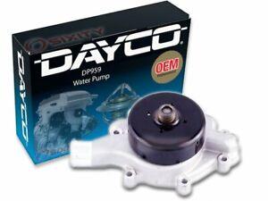 For 1999-2003 Dodge Ram 1500 Van Water Pump Dayco 71161BG 2000 2001 2002