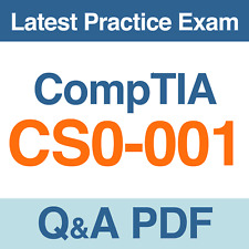 CompTIA CSA+ Certification Exam CS0-001 Practice Test Q&A PDF