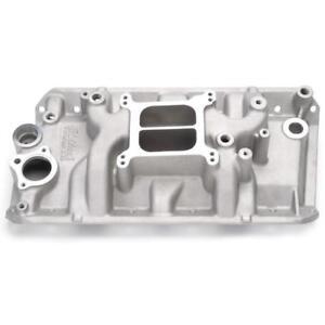 Edelbrock Intake Manifold 2131; Performer Dual Plane Aluminum for AMC 290-401 V8