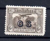 Australia 1931 6d OS Official mint MH SG139A WS15620