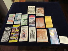 Vintage Louisiana & New Orleans Travel Tourist Lot of 16   Mainly 1960's  A14