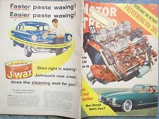 1957 AUGUST MOTOR TREND MAGAZINE  SPOTLIGHT ON DETROIT  PREVIEWING THE '58s  CHR