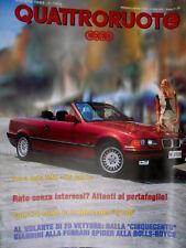 Quattroruote 454 1993 Prova BMW 325 Cabrio. Dalla 500 Giannini alla Ferrari Q102