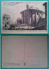 Roma da Piranesi -  Veduta del Tempio di Cibele a Piazza Bocca della Verità