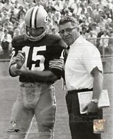 VINCE LOMBARDI BART STARR GREEN BAY PACKERS *LICENSED* 8X10 PHOTO *LICENSED*