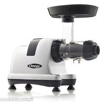 Omega J8007 Masticating Slow Juicer SILVER Upgrade to 8004/8006 Nutrition Center