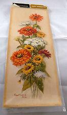 Decoupage Paper Crafts Patricia Nimocks Flowers NIP Art Prints Transfer Framing