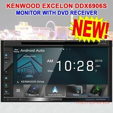 "NEW KENWOOD EXCELON DDX6906S 2-DIN 6.2"" TOUCHSCREEN DVD RECEIVER USB / BT / FM"