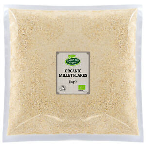 Organic Millet Flakes 1kg - Gluten Free - Certified Organic