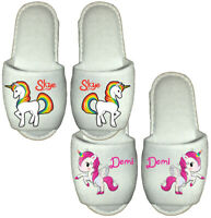 Kids Sleepers Girls Mae Twin Gusset Pussy Cat Slippers JUNIOR UK SIZE 5-10