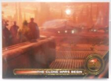 Star Wars Galactic Files Reborn Moments The CLone Wars Begin SP Gold # 2 / 10