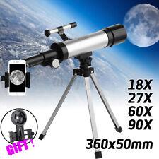 HD Astronomical Refractor Telescope Refractive Eyepieces Tripod + Phone  !! !!