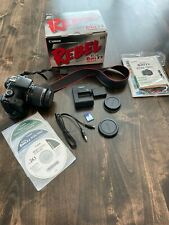 MINT Canon Rebel T3i 18.0 MP DSLR With EF-S IS II 18-55mm Lens Kit