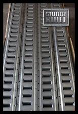 8x 5' PLATED E Track f Cargo Trailer ATV Van Transport Tie Down Strap 12 Gauge