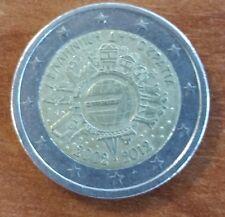 """Greece Grece Griechenland Grecia 2 euros 2012 """"10 years of Euro"""""""