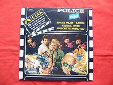 Lp 33 Giri Police Movies 1981  Electronic Funk Soul Stage & Screen Funk VG+