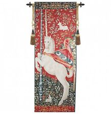 MEDIEVAL TAPESTRY WALL HANGING UNICORN PICTURE PORTIERE