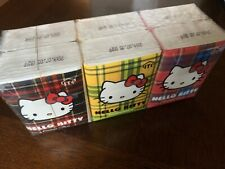 HELLO KITTY SANRIO Pocket Tissues Mini Personal 6 Packs For School Kawaii