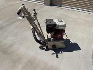 Edco CPM8-9H Crete Plane Concrete Grinder Scarifier Planer Sander Plainer