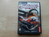 CRASHDAY PC CD-ROM GAME WINDOWS 2000 XP WITH USER MANUAL MOTORSPORT