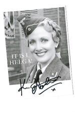 Kim Hartman as Helga Geerhart Actress in BBC Allo Allo Hand Signed Photo 6 X 4