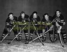 Bill Juzda, Neil Colville, Hal Laycoe, Joe Cooper & Billy Moe 8X10 PHOTO