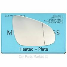 Right side Wide Angle wing mirror glass for Toyota Avensis 2015-17 heated plate