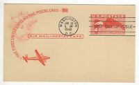 SSS: Classic Unknown  Postal Card  FDC 1949  4c  Eagle in Flight      Sc # UXC1