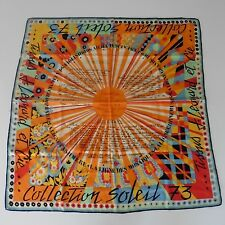 Square Scarf Silken Leonard Vintage 1973 Perfect Condition Rare Collector